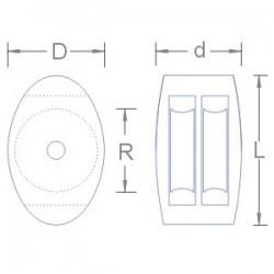 Polo blanc écusson Ferrari - VHA