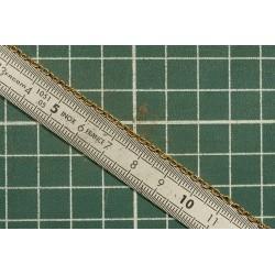 Chaine laiton N° 11 maillons ovales sans renfort 3 maillons au centimètre