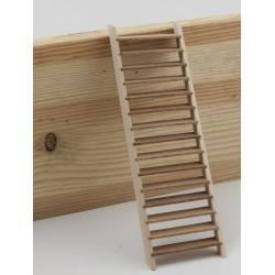 Escalier en bois modèle réduit. Échelle 1:22,5
