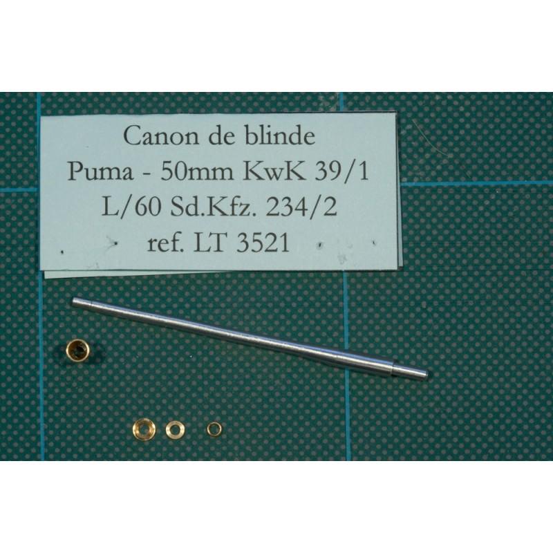 Canon métal pour 50 mm Kwk 39-1 Puma